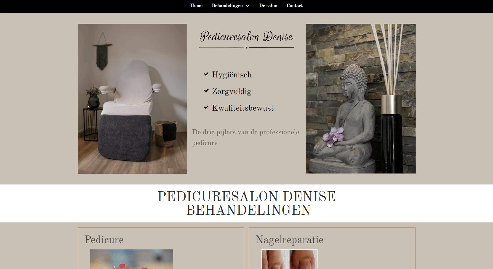 website voor een scherpe prijs